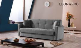 ספה נפתחת למיטה LEONARDO פוקוס