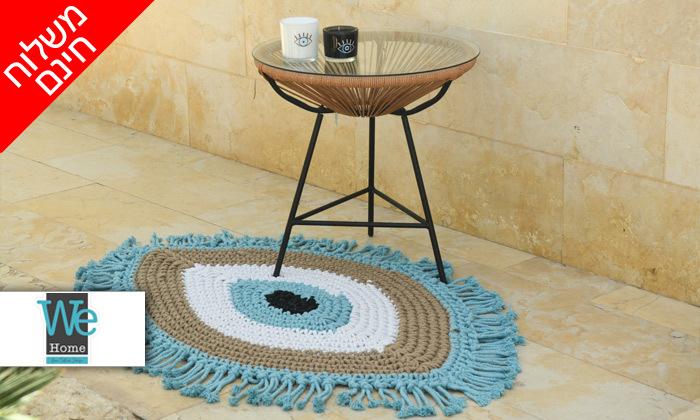 2 שטיח מקרמה בעבודת יד דגם חמסה במבחר גדלים וצבעים - משלוח חינם
