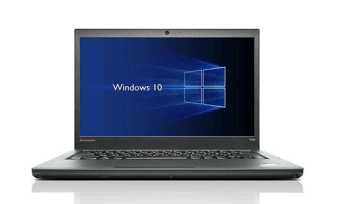 """4 מחשב נייד מחודש Lenovo דגםT440מסדרתThinkPad עם מסך """"14, זיכרון 8GB ומעבד i5"""