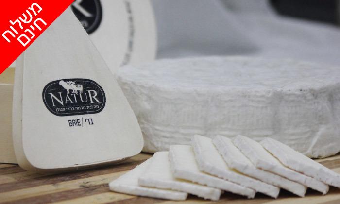 """3 מארז 1 ק""""ג גבינות בוטיק פרימיום ממחלבת NATUR במשלוח חינם למגוון יישובים"""