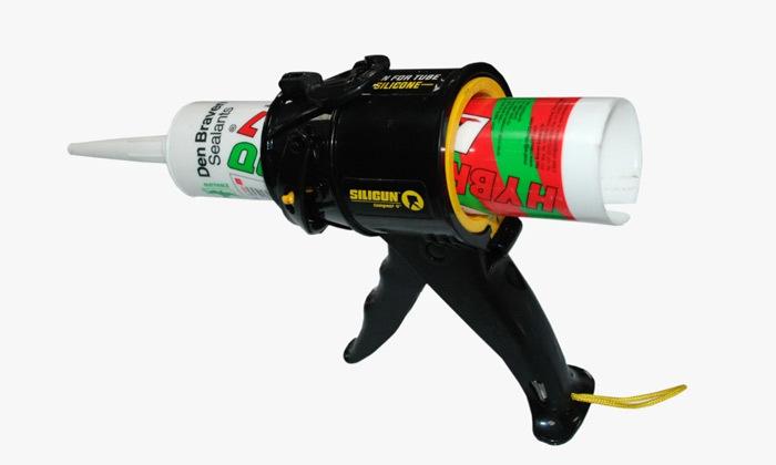 2 אקדח סיליקון קומפקטי מקצועי SILIGUN