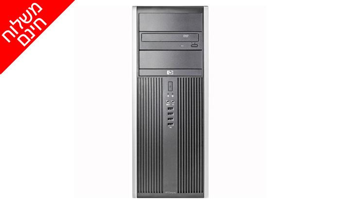 3 מחשב נייח HP עם מעבד i5, מקלדת ועכבר - משלוח חינם