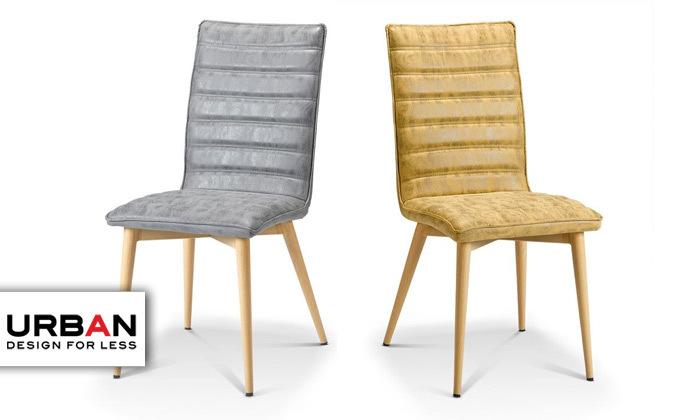 2 כיסא אוכל URBAN דגם COMFO