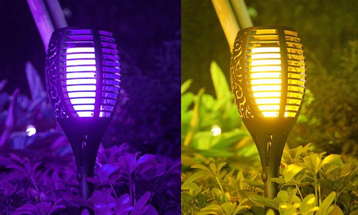 3 מארז 2 נורות תאורה סולארית צבעונית MINIMAXX