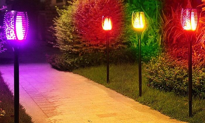 2 מארז 2 נורות תאורה סולארית צבעונית MINIMAXX