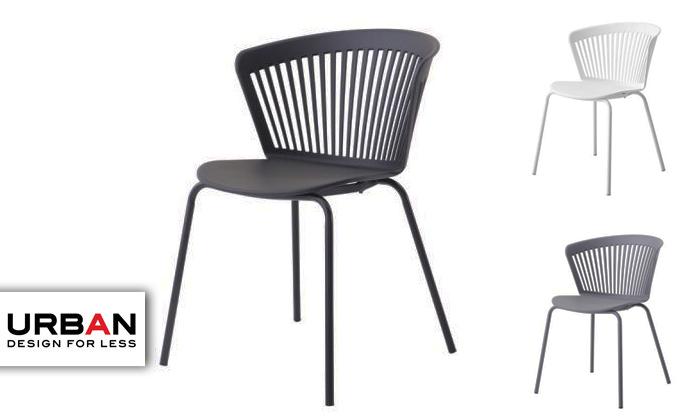 2 כיסא אוכל URBAN דגם NOKI