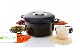 סיר לבישול ואידוי מהיר במיקרוג