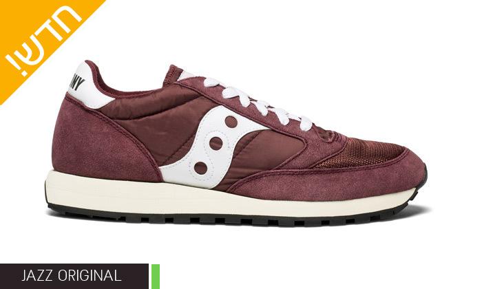 5 נעליים לנשים סאקוני Saucony