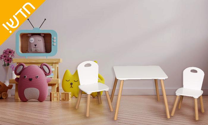 2 שולחן וזוג כיסאות לילדים