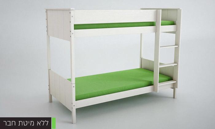 3 שמרת הזורע: מיטת קומותיים מעץ