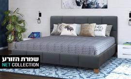 מיטה זוגית מרופדת דגם שירן
