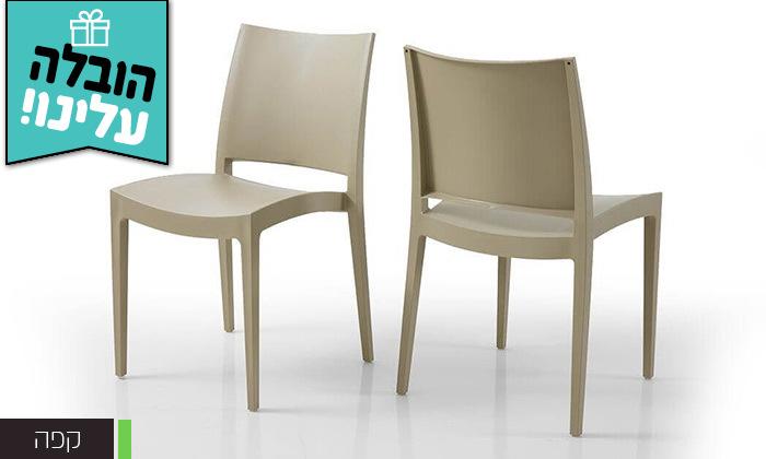 5 שמרת הזורע: סט 4 כיסאות אוכל - משלוח חינם