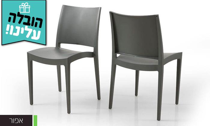 8 שמרת הזורע: סט 4 כיסאות אוכל - משלוח חינם