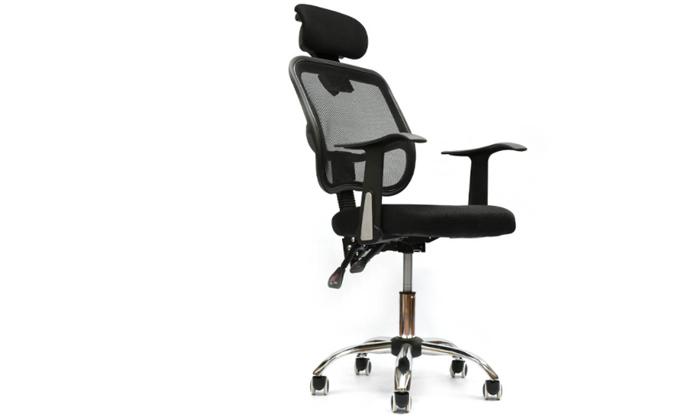 2 כיסא מנהל אורתפדי ROSSO ITALY דגם MSH-1-53