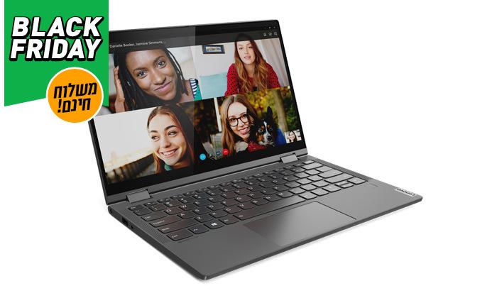 3 מחשב נייד Lenovo YOGA עם מסך מגע 13.3 אינץ' - משלוח חינם