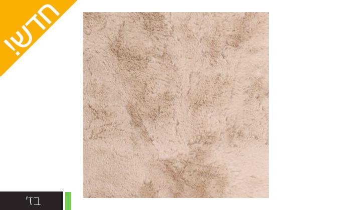 6 שטיחי שאגי במגוון צבעים וגדלים