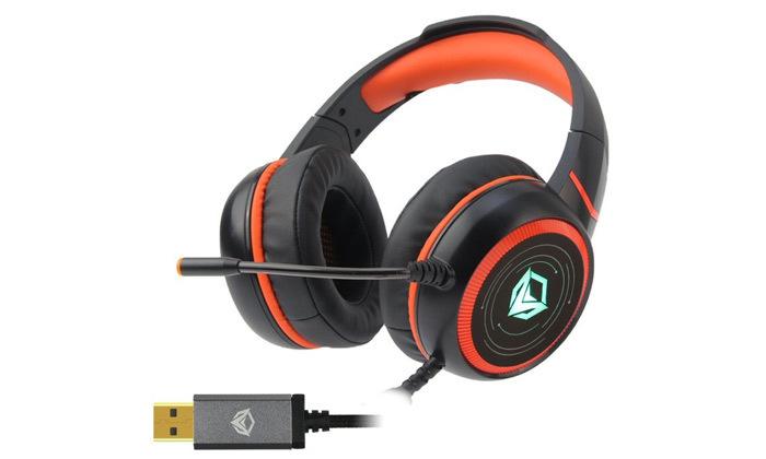4 אוזניות גיימינג Meetion דגם7.1 Surround HP030