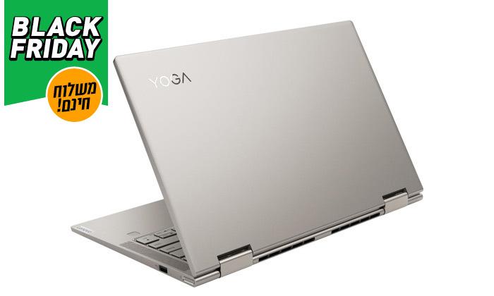 """4 מחשב נייד חדש Lenovo YOGA C740 עם מסך """"15.6, מעבד i7 וזיכרון 12GB - משלוח חינם"""