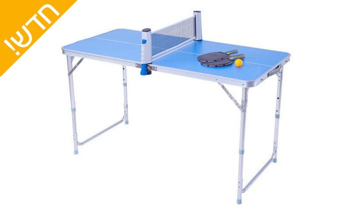 2 שולחן פינג פונג מתקפל