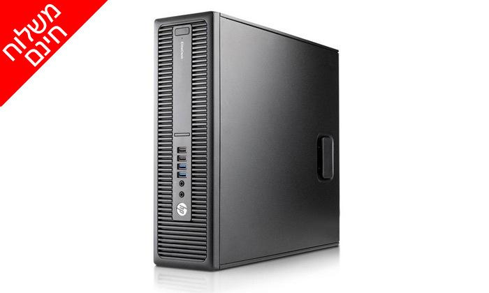 3 מחשב נייח מחודש HP דגם 800 G2 מסדרת EliteDesk עם זיכרון 16GB ומעבד i5 - משלוח חינם