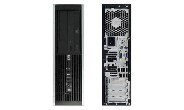 3 מחשב נייח מחודש HP דגםSFF8200מסדרת EliteDesk עם זיכרון 8GB ומעבד i7