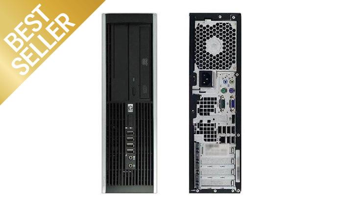3 מחשב נייח מחודש HP דגם 8200 SFFמסדרת EliteDesk עם זיכרון 8GB ומעבד i7