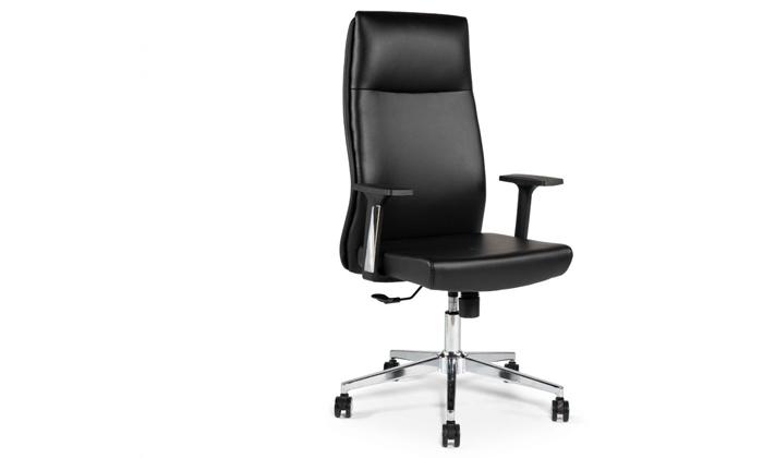 """2 כיסא מנהלים ד""""ר גב דגם LEADER"""