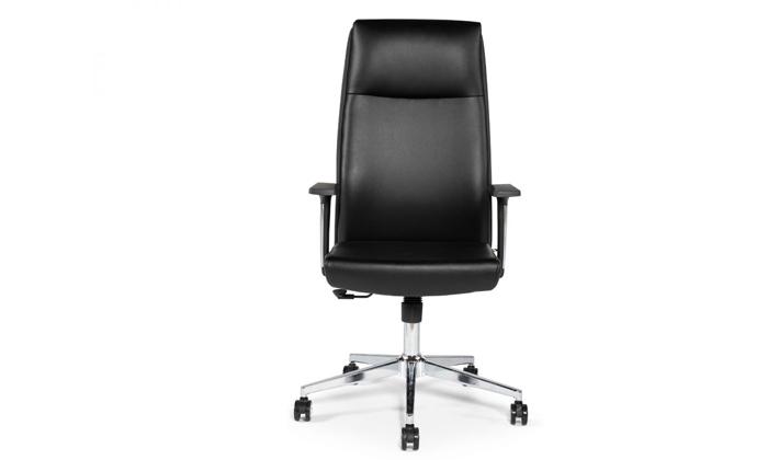 """5 כיסא מנהלים ד""""ר גב דגם LEADER"""