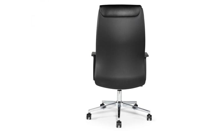 """4 כיסא מנהלים ד""""ר גב דגם LEADER"""