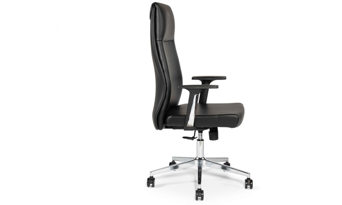 """3 כיסא מנהלים ד""""ר גב דגם LEADER"""