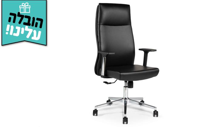 """6 כיסא מנהלים ד""""ר גב דגם LEADER - משלוח חינם"""
