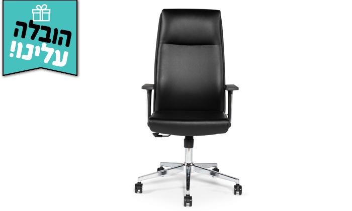 """5 כיסא מנהלים ד""""ר גב דגם LEADER - משלוח חינם"""