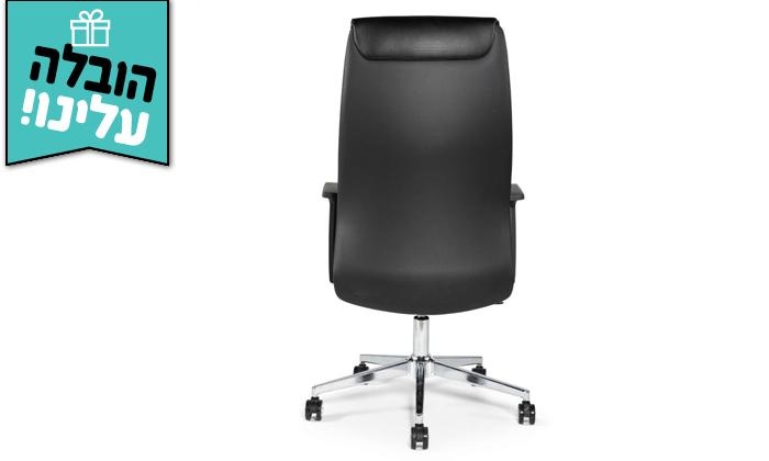 """4 כיסא מנהלים ד""""ר גב דגם LEADER - משלוח חינם"""