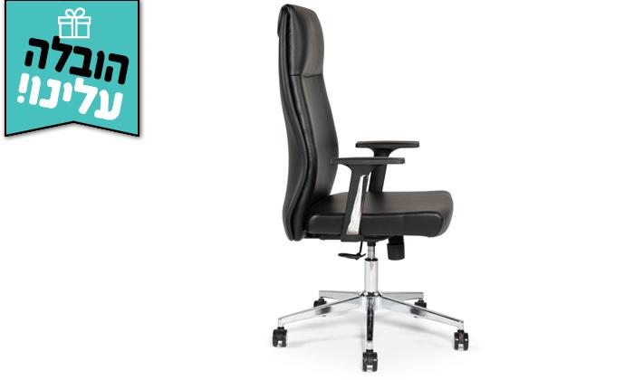 """3 כיסא מנהלים ד""""ר גב דגם LEADER - משלוח חינם"""