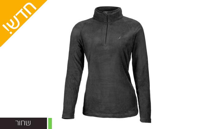 4 חולצת נשים תרמית OUTDOOR דגםJessie Microfleece