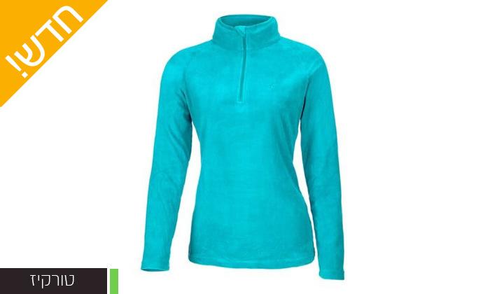 5 חולצת נשים תרמית OUTDOOR דגםJessie Microfleece