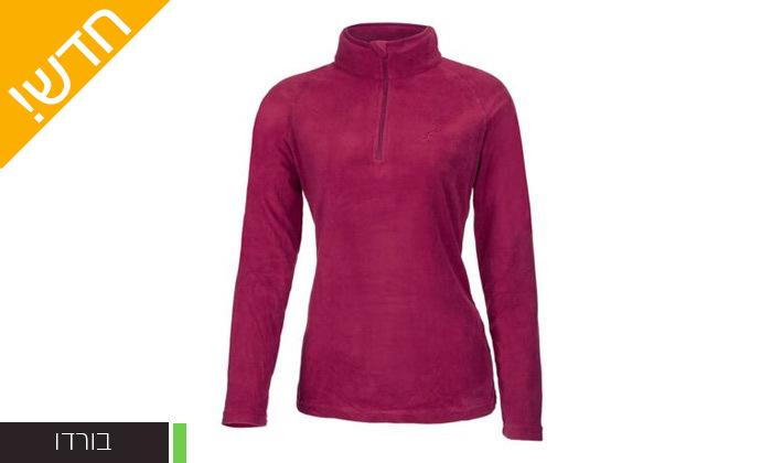 6 חולצת נשים תרמית OUTDOOR דגםJessie Microfleece