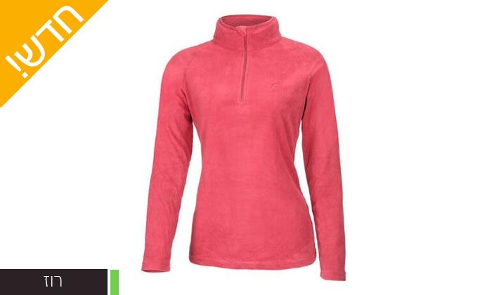 8 חולצת נשים תרמית OUTDOOR דגםJessie Microfleece