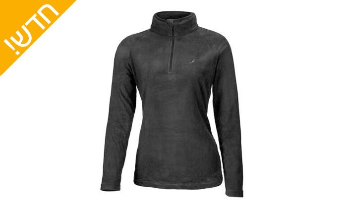 10 חולצת נשים תרמית OUTDOOR דגםJessie Microfleece