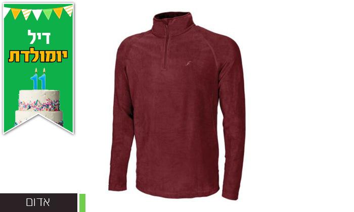3 חולצת גברים תרמית OUTDOOR דגםJake Microfleece