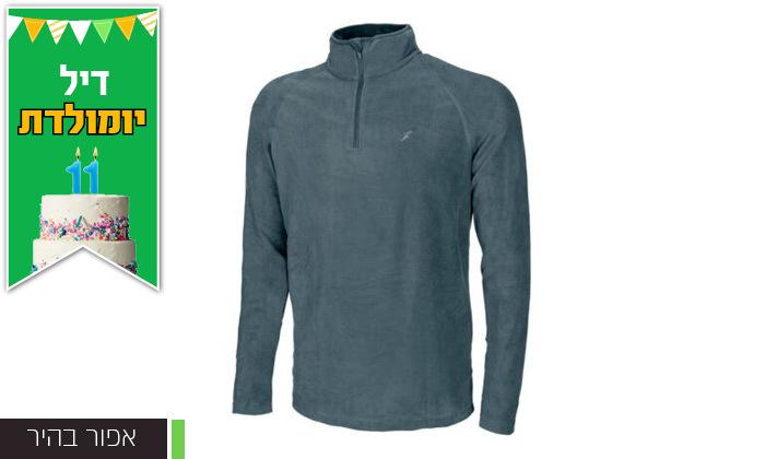 4 חולצת גברים תרמית OUTDOOR דגםJake Microfleece