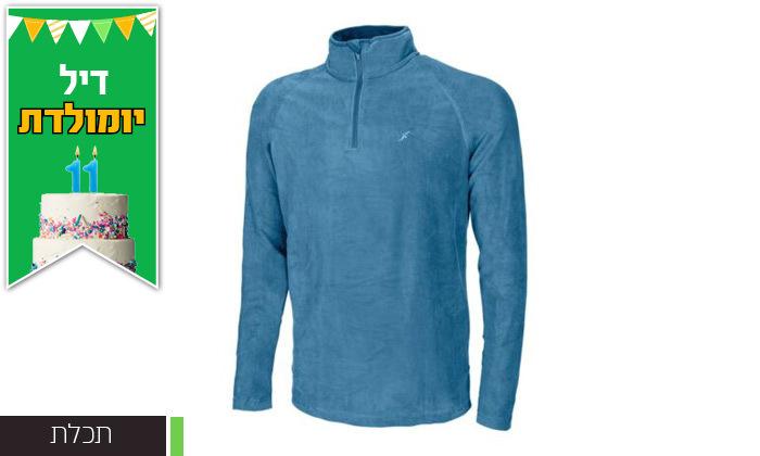 5 חולצת גברים תרמית OUTDOOR דגםJake Microfleece