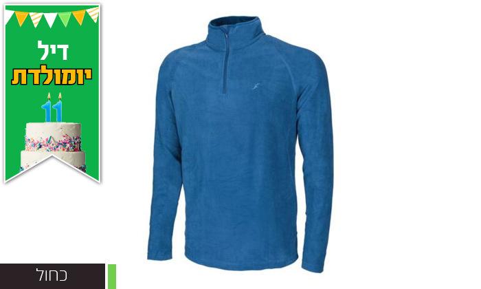7 חולצת גברים תרמית OUTDOOR דגםJake Microfleece
