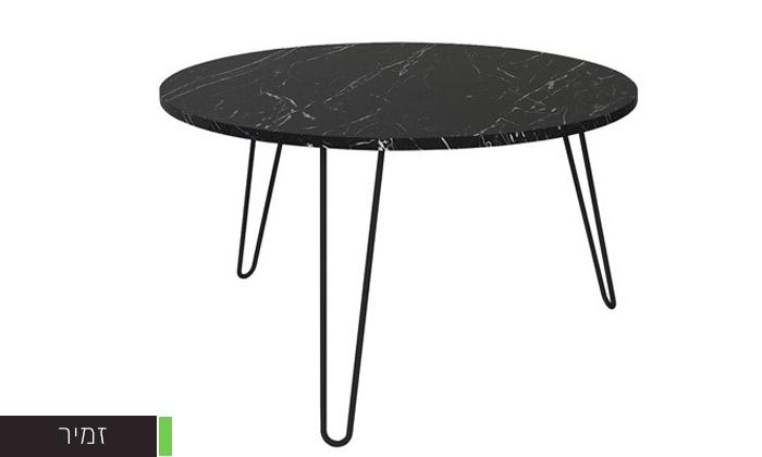 """7 שולחן סלון עגול 60 ס""""מ - דגמים לבחירה"""