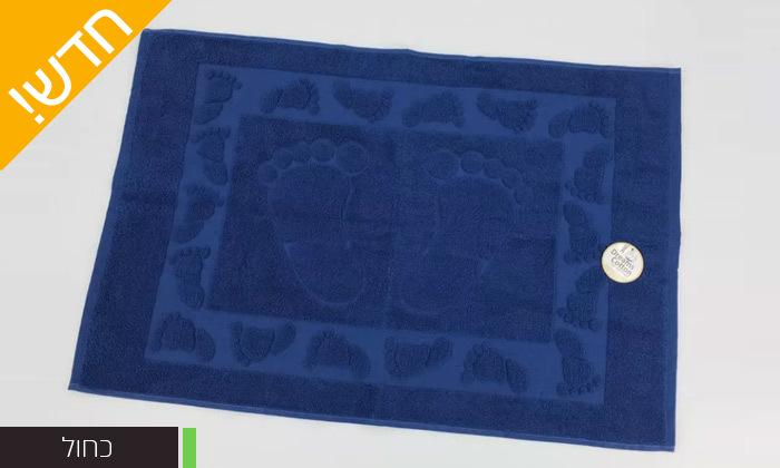 4 מגבת רגליים לאמבטיה או מארז 4 מגבות רגליים לאמבטיה 100% כותנה