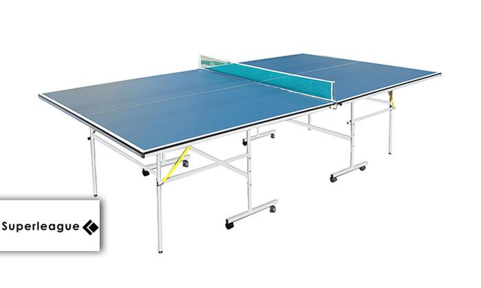 2 שולחן פינג פונג לשימוש פנים SUPERLEAGUE