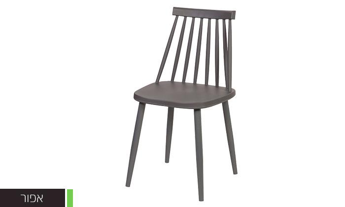 3 רביעיית כיסאות פלסטיק דגם 104A