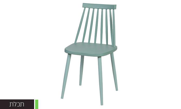 4 רביעיית כיסאות פלסטיק דגם 104A