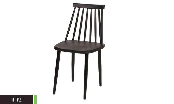 5 רביעיית כיסאות פלסטיק דגם 104A