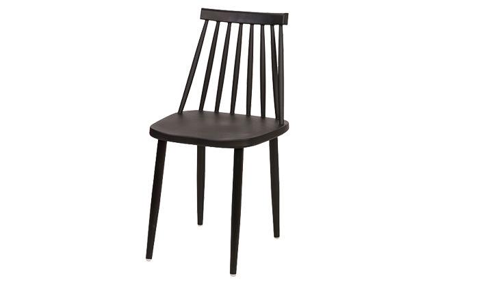 6 רביעיית כיסאות פלסטיק דגם 104A